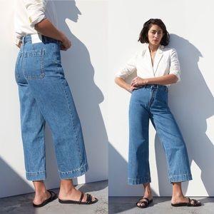 Wide Leg Crop Jeans by Everlane